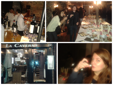 SPECIAL EVENTS IN LA CAVERNA RESTAURANT