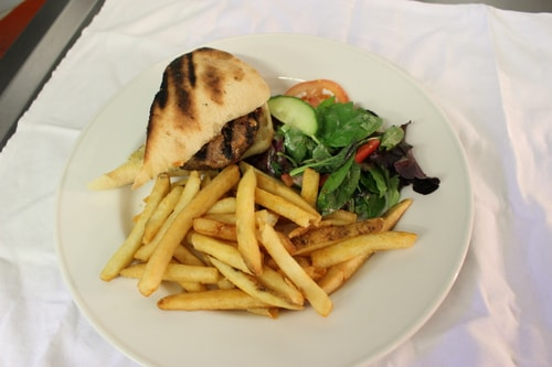 La Caverna Char-Grilled Irish Burger